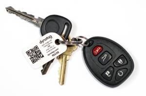 Keychain with Mini Dynotag
