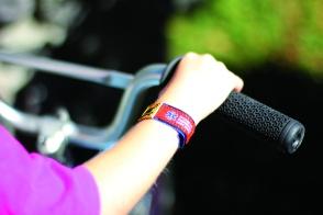ECI Wristband on Small Wrist http://dynotag.hostedbywebstore.com/Dynotag®-Enabled-Emergency-Information-Wristband/dp/B00M3NEV9S