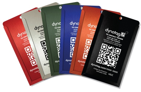 New convertible tag selection from Dynotag!