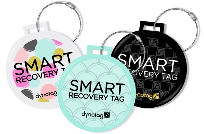 Tough Steel Deluxe Luggage Tags, In Fun Designs